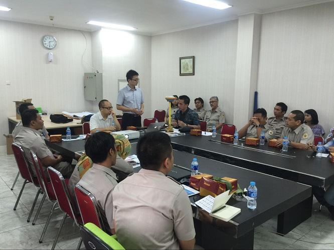 20160708034717640 - David Hu, VP of Hi-Target, visited National Land Affair Agency, user seminar and universities in Indonesia
