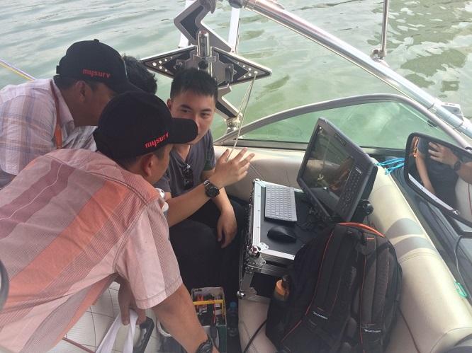 2016070803591109 - David Hu, VP of Hi-Target, visited National Land Affair Agency, user seminar and universities in Indonesia