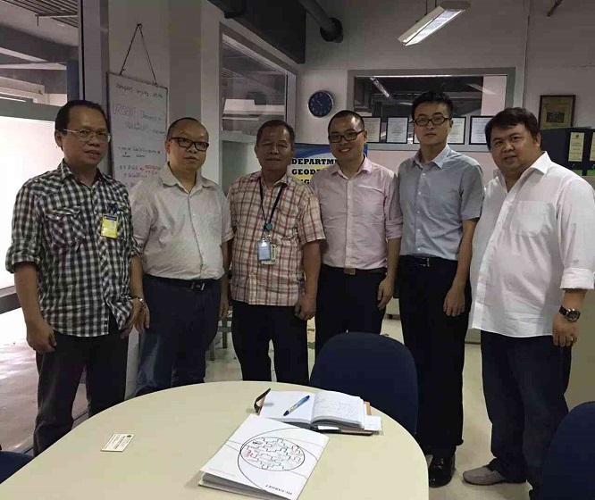 2016070804114956 - Hi-Target visited universities in Philippine