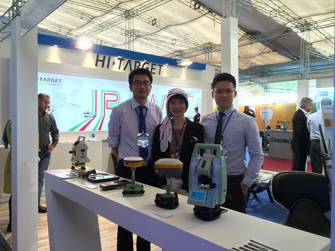 20160708042721299 - Hi-Target attended The Geomatics 2016 Exhibition in Tehran, Iran