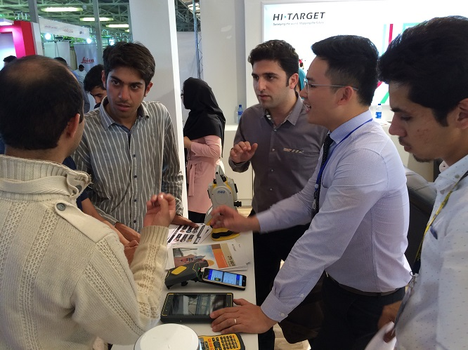 20160708042752559 - Hi-Target attended The Geomatics 2016 Exhibition in Tehran, Iran