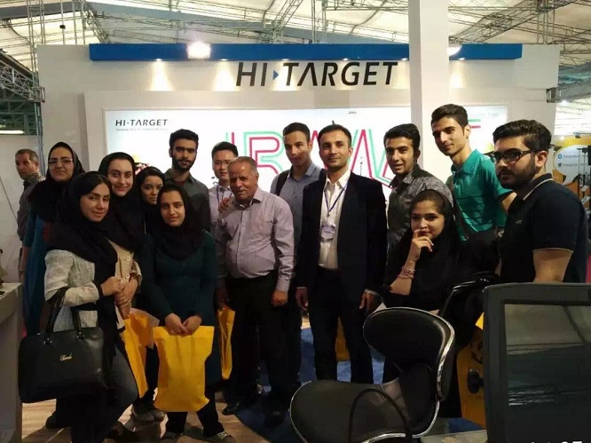 20160708042846293 - Hi-Target attended The Geomatics 2016 Exhibition in Tehran, Iran