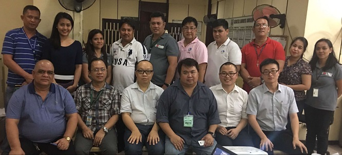 2016071102233607 - Vice president of Hi-Target visited Philippine Land Management Bureau