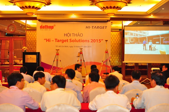 20160711103322562 - User Conference of Hi-Target Solutions 2015 Held in Ho Chi Minh City on July 10th, 2015