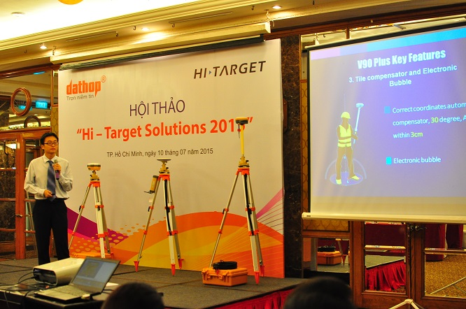 20160711103333228 - User Conference of Hi-Target Solutions 2015 Held in Ho Chi Minh City on July 10th, 2015