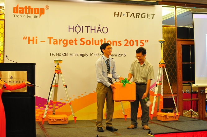 20160711103418239 - User Conference of Hi-Target Solutions 2015 Held in Ho Chi Minh City on July 10th, 2015