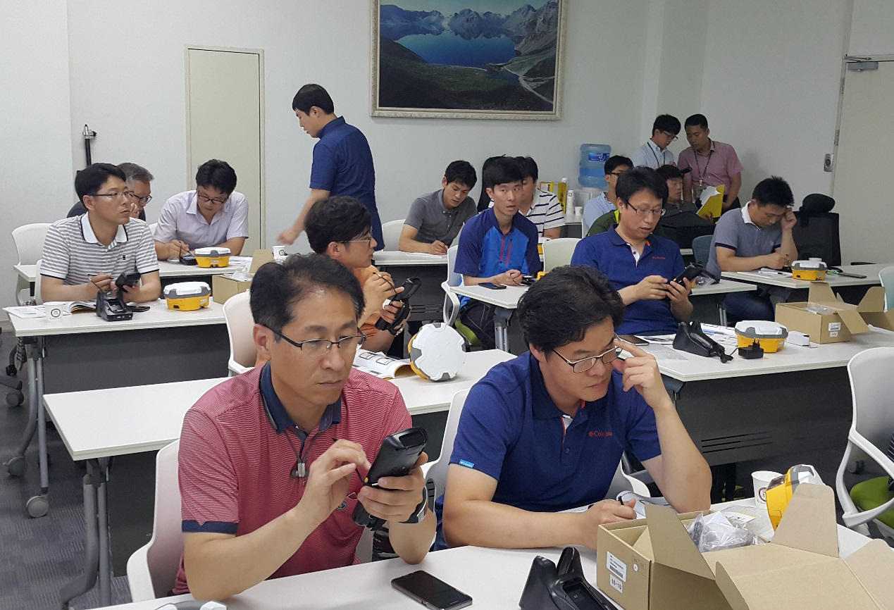 2016080304471306 - Story with Hi-Target - KOSECO Participating in Korean Government Bidding Competition of Land Surveying