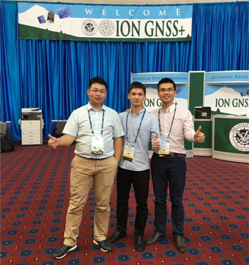 20160927113653740 - Hi-Target Experts Giving Presentations on ION GNSS+ 2016 in America