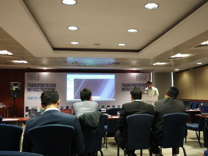 20170228070027244 - Geospatial + Deep Learning: Shaping Smarter World. - Hi-Target is at Geospatial World Forum 2017.