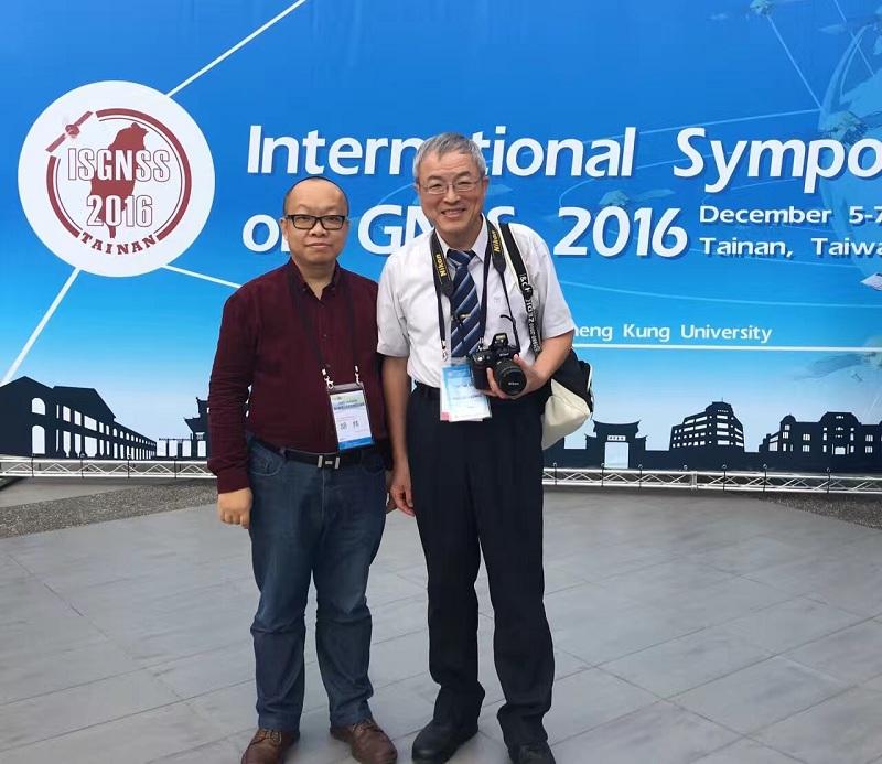 David Hu in IS GNSS 2016, Taiwan