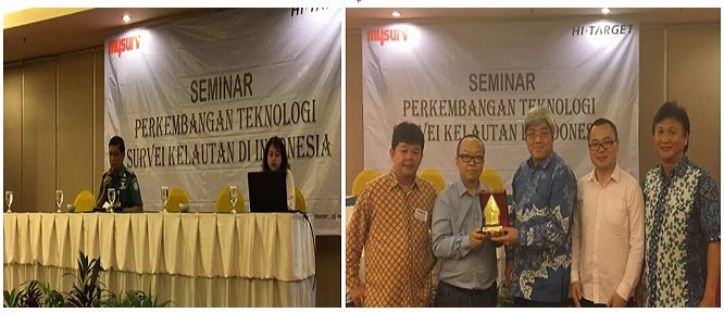 2016070803489889 - David Hu, VP of Hi-Target, visited National Land Affair Agency, user seminar and universities in Indonesia