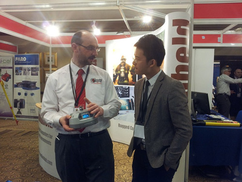 2016071101439756 - Hi-Target succeeded in 2013 UK GeoSouth Exhibition