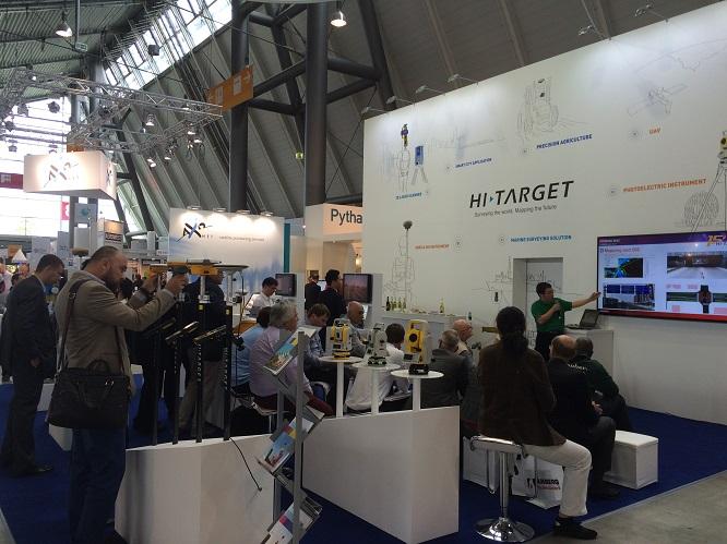 20160711101410910 - Hi-Target, at 2015 InterGEO &WDC