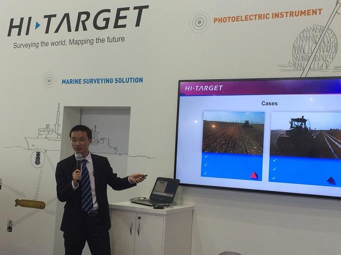 20160711101526333 - Hi-Target, at 2015 InterGEO &WDC