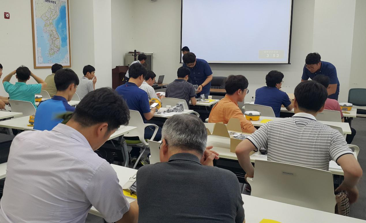 20160803044638820 - Story with Hi-Target - KOSECO Participating in Korean Government Bidding Competition of Land Surveying