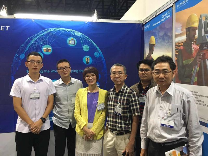 2016092605207366 - Hi-Target Attending Exhibition Concrete Asia 2016