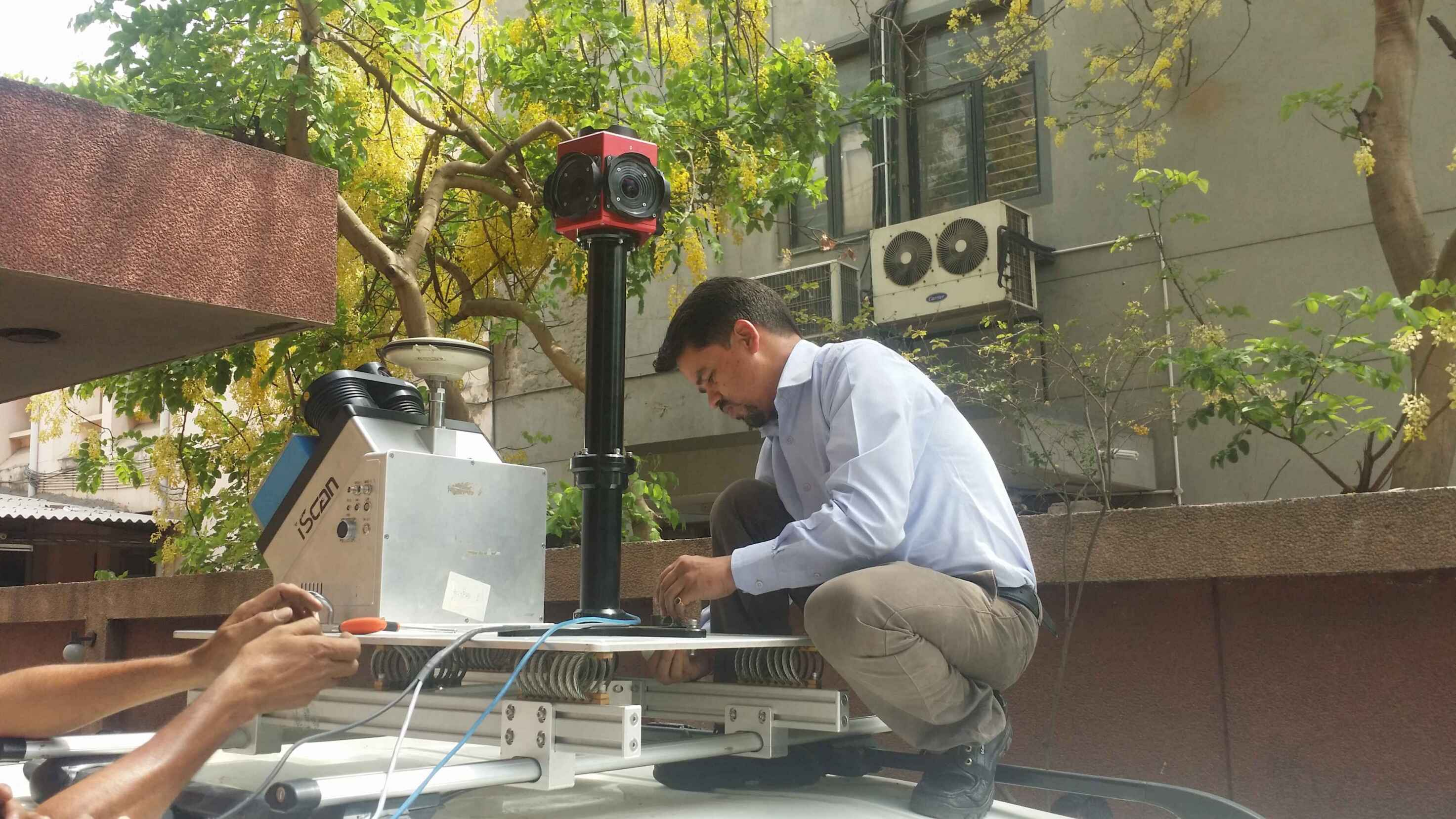 Hi-Target Mobile Mapping System in India