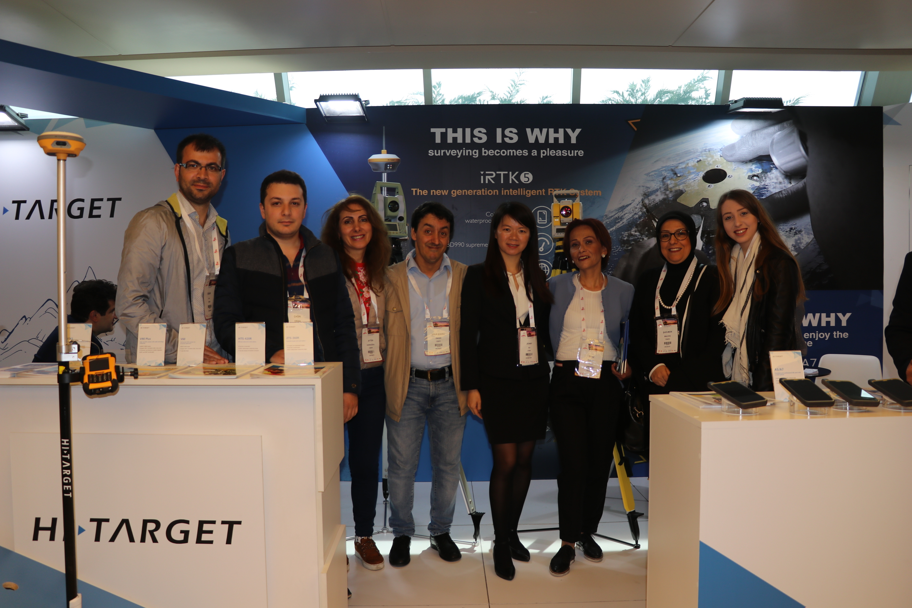 20180510050128739 - Determine the efficiency of  Hi-Target solutions when you participate in FIG Congress 2018