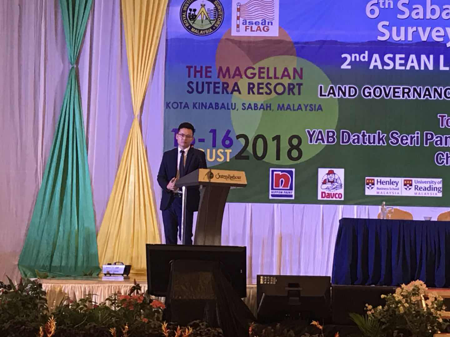 20180821014350611 - Hi-Target in The 6th Sabah International Surveyors' Congress