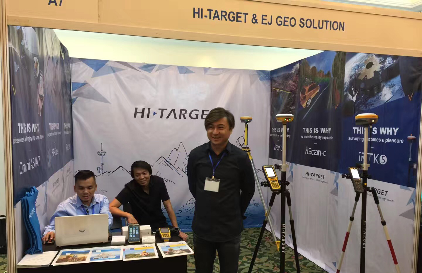 20180821014444557 - Hi-Target in The 6th Sabah International Surveyors' Congress