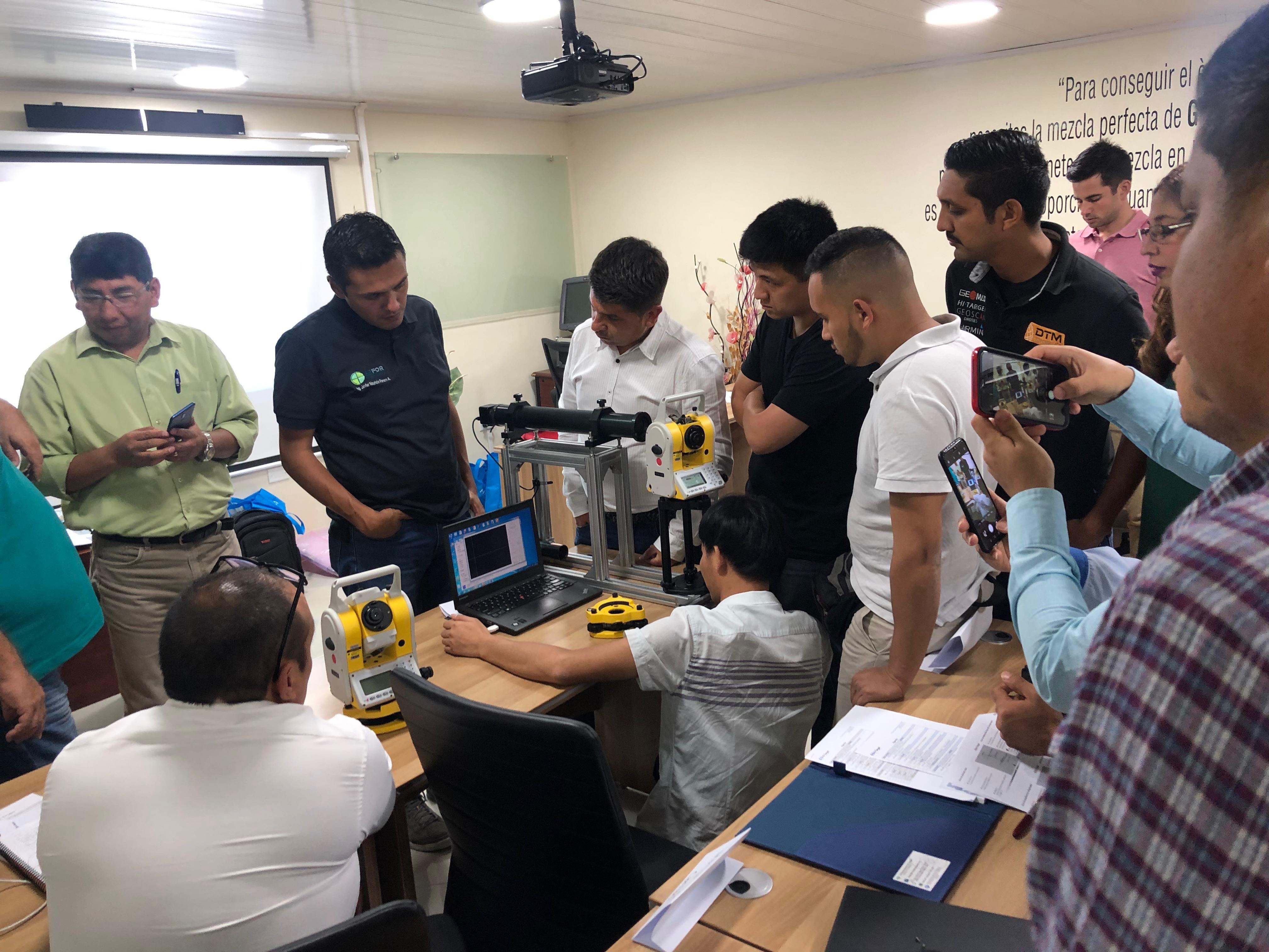 20191104041818779 - Hi-Target Maintenance Training Successfully Held in Panama